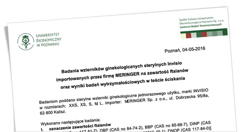 Ekspertyza CBT Poznań wzierników Invisio